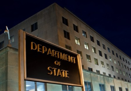 The US State Department is seen on Novem